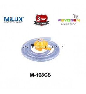 Milux Gas Regulator M-168CS (Low Pressure) 1.5m Hose 3 years warranty