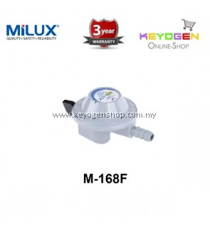 Milux Gas Regulator M-168F (Low Pressure) -3 years warranty