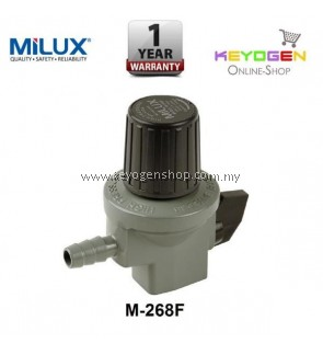 Milux Gas Regulator M-268F (High Pressure) -1 year warranty