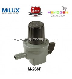 Milux Gas Regulator M-268F (High Pressure) -3 years warranty