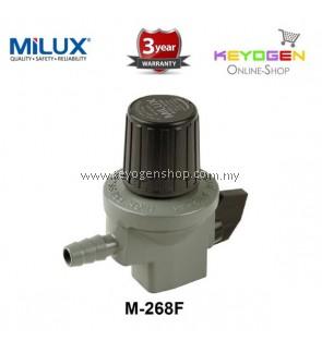 Milux Gas Regulator M-268F (High Pressure) -3 years warranty
