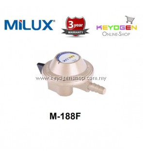 Milux Gas Regulator M-188F (Low Pressure) 3 Years Warranty