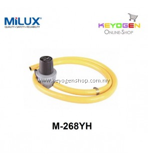 Milux Gas Regulator M-268YH (High Pressure) 1.3m Hose