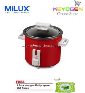MILUX Classy Rice Cooker MRC-703 COMBO 1 Pack Keyogen Multipurpose Wet Tissue