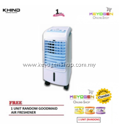 Khind Air Cooler EAC400 with 3-Wind Speed and Suitable for Room Size Up to 15sqm - 1 Year Warranty FREE 1 Unit Random Goodmaid Air Freshener