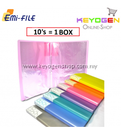 PP Clear Holder 10's (Mix Colour) / 1 box (12 unit)