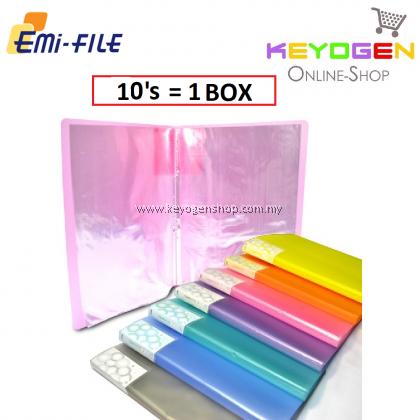 PP Clear Holder 10's (Mix Colour) / 1 box (12 unit)
