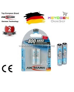 Ansmann NiMH Rechargeable battery AAA / HR03 800 mAh maxE 2 pcs #MYCYBERSALE