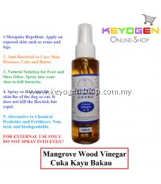 Mangrove Wood Vinegar Cuka Kayu Bakau 100ml