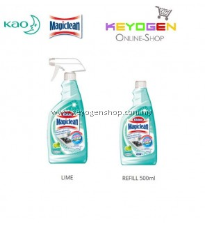 Magiclean Kitchen Trigger Refreshing Lime+Refill Combo (500ml + 500ml)