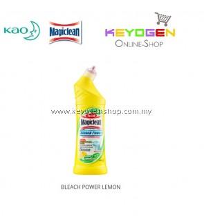Magiclean Toilet Bleach Power Lemon Cleaner 500ml