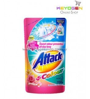 Attack Liquid Detergent Colour Refill 700g