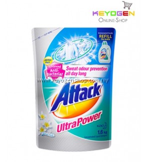 Attack Liquid Detergent Ultra Power Refill 1.6kg