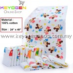 "PROMOTION! Kid Towel Keyogen Homie 1 Unit - 100% Cotton Soft Touch KidTowel Bee Hive - Size : 24"" x 48""(Random Design)"