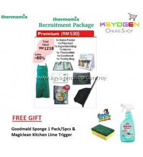 Thermomix Recruitment PREMIUM Package FREE Goodmaid Sponge + Magiclean Kitchen Lime Trigger