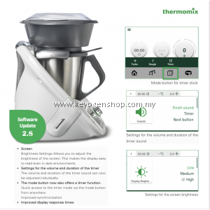 Thermomix TM6 – 20in1 and growing- Multi Function Cooking Kitchen Machine FREE 1 Unit Magiclean Kitchen Trigger Green Apple 500ml
