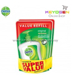 Dettol Hand Wash Original Refill Pouch Twin Pack 2x225ml