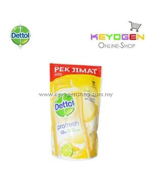 Dettol Body Wash Fresh Refill Pouch Pek Jimat 1x800g