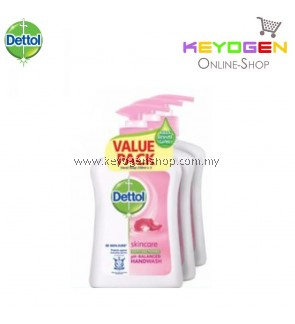 Dettol Hand Wash Skincare 250ml x 3 (Value Pack)