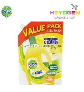Dettol Citrus Multi Surface Cleaner Refill 1.2L - 1 Unit (Value Pack)