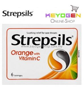 Strepsils Orange with Vitamin C 6'S