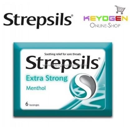 Strepsils Extra Strong Menthol 6'S