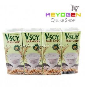 V-Soy Multi-Grain Soya Bean Milk 200ml x 4