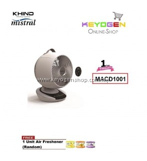 KHIND Mistral Oscillation Fan MACD1001 (MAIRONE) - 1 Year Warranty FREE 1 Unit Air Freshener (Random)