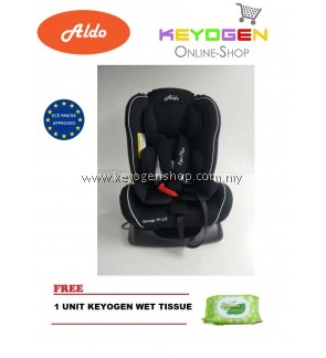 Aldo Ego III-plus AL-113 Baby Safety Car Seat FREE 1 Unit Keyogen Wet Tissue
