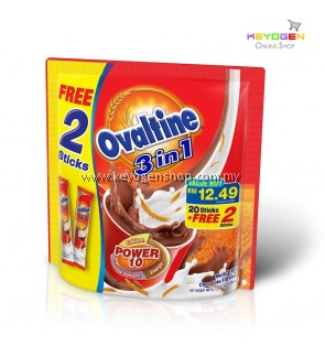 Ovaltine 3 in 1 Original Taste (20's + 2's)