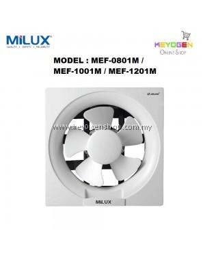 "Milux Wall Mounted Exhaust Ventilation Fan 12"" MEF-1201M"