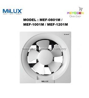 "Milux Wall Mounted Exhaust Ventilation Fan 8"" MEF-0801M"