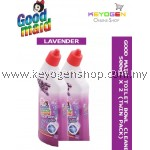 GOODMAID Toilet Bowl Cleaner ( LAVENDER ) 500ml X 2 (Twin Pack) FREE 1pc Goodmaid Sponge